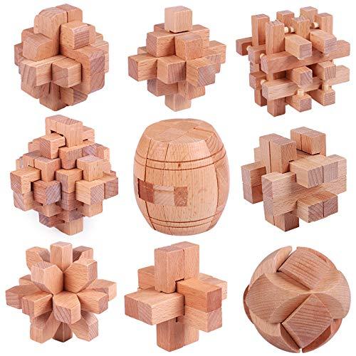 Schüler Box (zhouye Luban Lock Kong Ming Schloss Massivholz Yi Intelligente Spielzeug Kinder Erwachsene Set Große Unlock Organ Box Schüler)