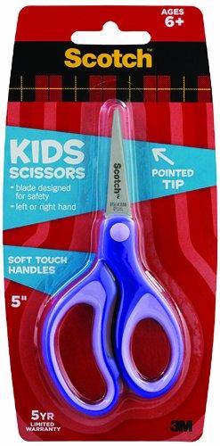scotch-1442p-forbici-per-bambini-12-cm-punta-manici-soft-touch-colore-viola-verde