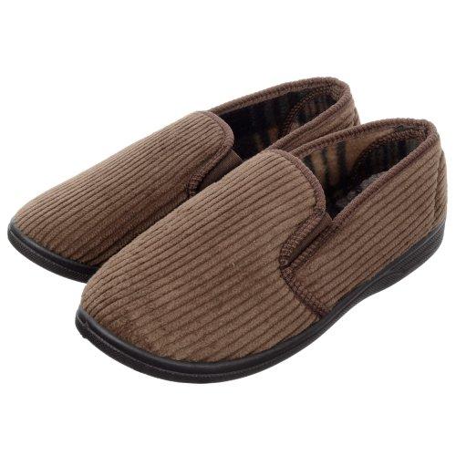 KS Brands, Pantofole uomo Brown
