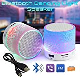 #2: Original Music Walk - Bluetooth Speaker - Bluetooth LED Speaker - LED Speaker - FM Radio Speaker - Car Audio Speaker - Microphone for Hands Free Calling - MicroSD Card Slot for Music - USB Slot for Music Plug & Play - Portable Wireless Bluetooth Speaker - MP3 Player - Aux Port - 3.5MM Audio Jack - Surround Sound - Portable Home Theater - Outdoor Speaker