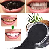 Activated Charcoal Teeth Whitening Powder,Activated Coconut Charcoal Powder for Stronger Healthy Whiter Teeth,Mint Flavor Bild 5