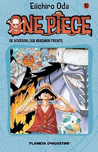 One Piece nº 10: De acuerdo, les haremos frente (Manga Shonen) por Eiichiro Oda