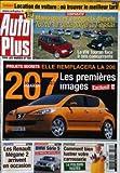 AUTO PLUS [No 760] du 01/04/2003 - COMPARATIF : MONOSPACES COMPACTS DIESELS, TOUTE LA...
