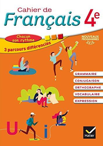 Cahier de Français 4e éd. 2016 - Cahier de l'élève par Annie Lomné