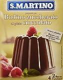 S.Martino Cioccolato Budino Zuccherato, senza Glutine - 80 gr - [confezione da 11]