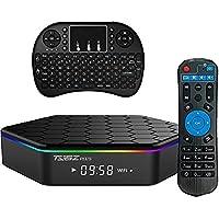GMAX T Plus Free Keypad Android 7.1 TV BOX 2GB 16GB 4K Amlogic 64bit Octa-core Ultra HD Smart Set Top Box, Supports 2.4G/5G Dual Wifi 1000M LAN Ethernet Bluetooth 3D