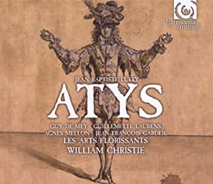 Lully: Atys (Les Arts Florissants/William Christie)