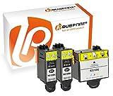 Bubprint 3 Druckerpatronen kompatibel für Samsung INK-M210 INK-M215 INK-C210 INK M210 M215 C210 für CJX-1000 CJX-1050W CJX-2000FW Black/Color