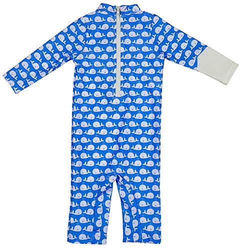 OCOI Traje De Baño para Bebé con Protección Solar UPF50+ Manga Larga – Mono/Bodysuit/Bañador Entero Una Pieza niña y… 5