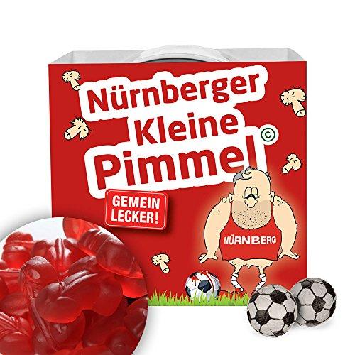 Nürnberger Kleine Pimmel | Gemein leckere Fruchtgummi, inklusive Messlatte zum lachen & vergleichen | Achtung: 1860-, Würzburg- & alle Fußball-Fans aufgepasst, so schön kann Fußball sein