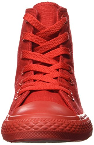 CONVERSE - Baskets rouges à lacets, en tissu, fille, filles Casino Red