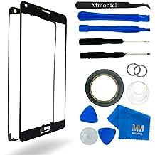 Kit de Reemplazo de Pantalla Táctil para Samsung Galaxy NOTE 4 N910 Negro Incluye Pinzas / Cinta adhesiva 2 mm / Kit de Herramientas / Limpiador de Microfibra / Alambre Metálico / Manual de Instrucciones MMOBIEL