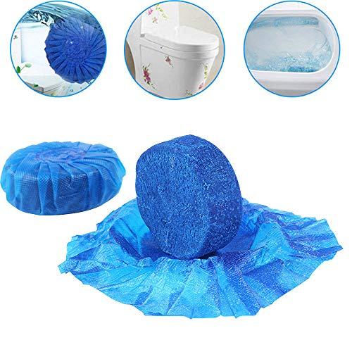 MMLC WC Wasserkasten Tabletten Tabs Toilettenreiniger Aktiv Steine Blauspüler (Blue) - Lite-urinal