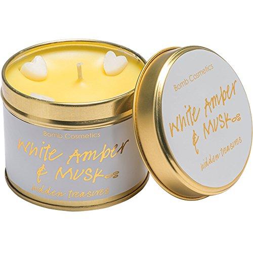 Preisvergleich Produktbild Bomb Cosmetics White Amber & Musk Tinned Candle