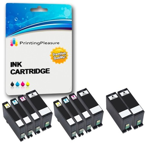 10 Druckerpatronen für Dell V525W, V725W | kompatibel zu Dell Serie 31, 32, 33, 34 (Dell V525)