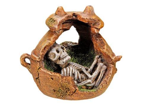 Nobby Maya Burial Urn Aquarium Ornaments, 14.2 x 11.2 x 12.2 cm 1