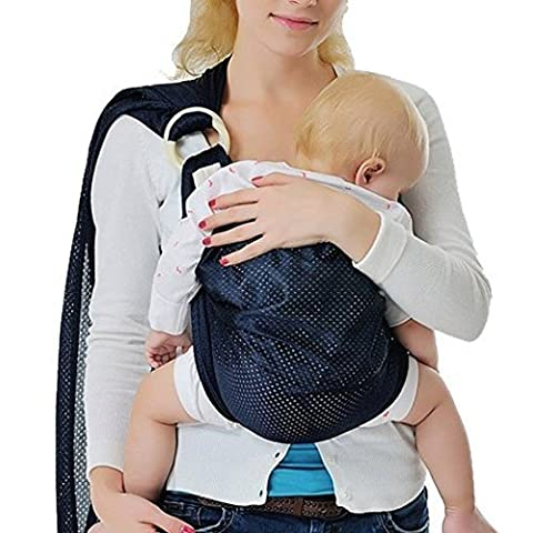 Vine Baby Bébé Echarpe de Portage Stretchy Wrap naturel Transporteur