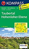 Taubertal - Hohenloher Ebene: Wanderkarte mit Radrouten. GPS-genau. 1:50000: Wandelkaart 1:50 000 (KOMPASS-Wanderkarten, Band 772)