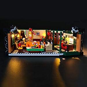 LIGHTAILING Set di Luci per (Ideas Friends Central Perk) Modello da Costruire - Kit Luce LED Compatibile con Lego 21319… 0716852281961 LEGO