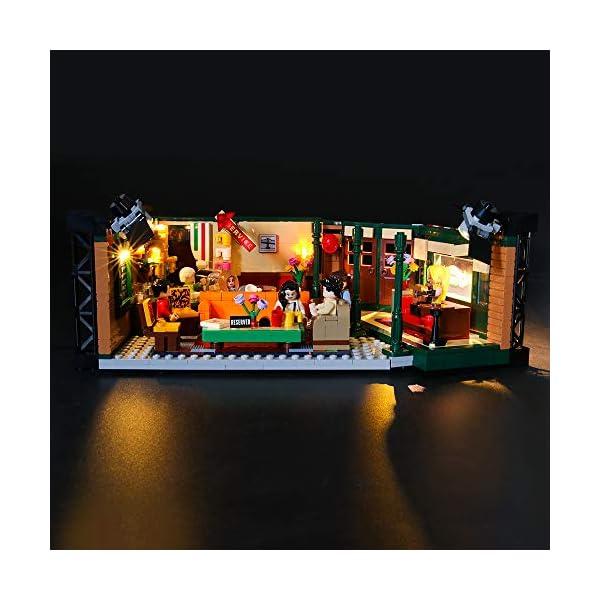 LIGHTAILING Set di Luci per (Ideas Friends Central Perk) Modello da Costruire - Kit Luce LED Compatibile con Lego 21319 (Non Incluso nel Modello) 1 spesavip