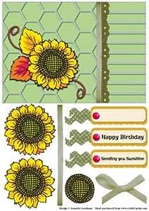 Invio Sunshine Sunflower 2by Jeanette Goodman