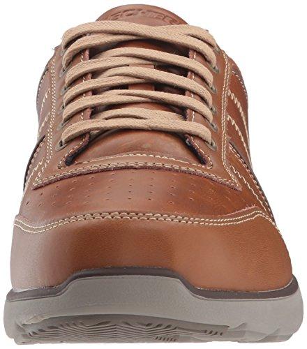 Skechers Herren Montego-Barston Sneaker Braun (Luggage)