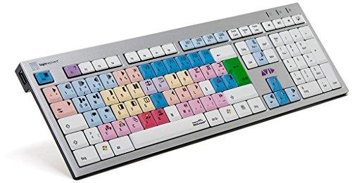 Produktbild LogicKeyboard LKB-MCOM4-AJPU-DE Avid Media Composer Slim PC Tastatur