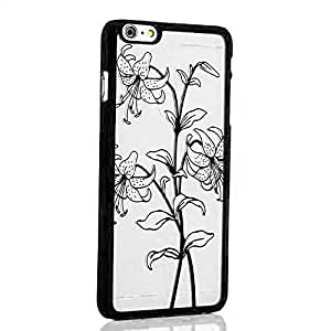 iPhone 5/5s/SE - 3D look Printed Flowers Design case Transparent Semi Hard back cover for iPhone 5, iPhone 5s & iPhone SE