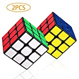 LOVEIXU Speed ​​Cube 3x3, Cube Puzzle, Magic Cube Toy Enhanced Edition Smooth, Anti-Pop Structure rubi Cube, Kleurrijk