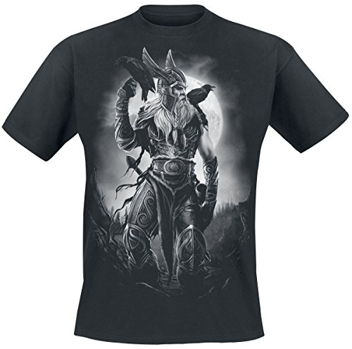 Toxic Angel Odin T-Shirt Schwarz M (T-shirt Angels La)