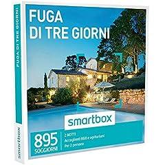 Idea Regalo - Smartbox - Fuga Di Tre Giorni - 895 Soggiorni In B&B e Agriturismi, Cofanetto Regalo