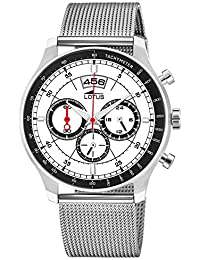 a55b361237a6 Lotus Reloj Cronógrafo para Hombre de Cuarzo con Correa en Acero Inoxidable  10138 1