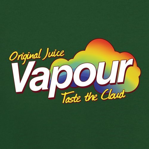 Vapour - Taste The Cloud - Herren T-Shirt - 13 Farben Flaschengrün