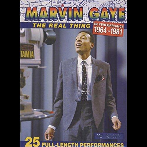 Preisvergleich Produktbild Marvin Gaye - The Real Thing In Performance 1964-1981 [Limited Edition] [2 DVDs]