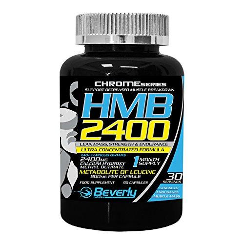 Enhancer 90 Kapseln (Beverly Nutrition exklusiv für ABSat40 HMB 2400-Muscle Enhancer-Booster Muskelmasse, Stärke, Ausdauer-hilft Fett zu verbrennen und erstellen-erhöht Protein-Absorption-90 Kapseln)