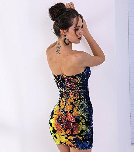 Missord -  Vestito  - Sera  - Senza maniche  - Donna Multi