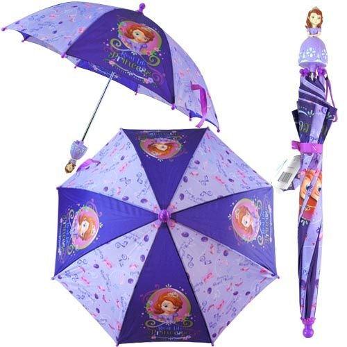 Disney Sofia the first pincess Kids Umbrella- 3D Handle by ()