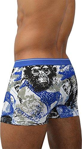 Shorts / Boxershorts von normani® 4 oder 6 Stück wählbar / Baumwolle mit Elasthan Wild Animals - 6 Stück