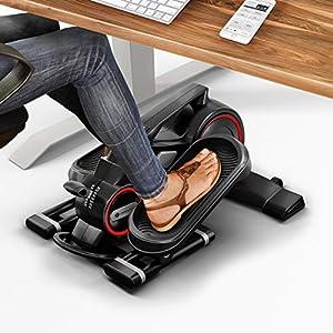 Messe-Neuheit 2018! Mini Heimtrainer mit App, Stepper DFX100 für Bewegung & Fitness im Büro Alltag & zuhause, Arbeitsplatz Gesundheit, kein höhenverstellbarer Schreibtisch nötig, Bein- & Pedaltrainer