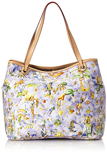 Piero Guidi 21L12 Magic Circus Cherie Borsa Tote, Sintetico, Cielo, 30 cm