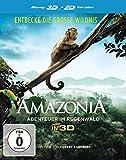 Amazonia - Abenteuer im Regenwald  (inkl. 2D-Version) [3D Blu-ray]