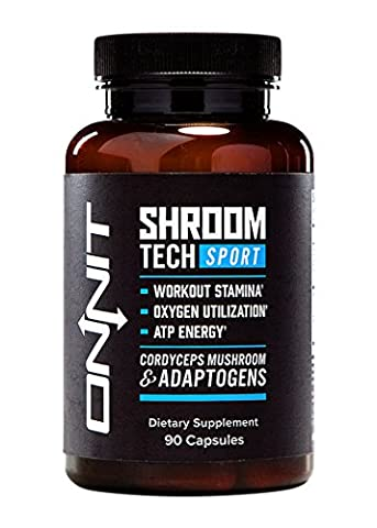 Shroom TECH Sport (90ct) Clean ATP energy. Better oxygen utilization. Faster recovery by Onnit Labs by Onnit