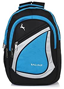 Bag-Age Spicy Large 30 (L) School Backpack (Blue)