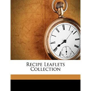 Recipe leaflets collection