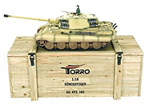 TORRO 1/16 RC KÖNIGSTIGER TIGER II 6mm BB DESERT-BEIGE