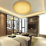VINGO® 50W LED Kristall Deckenleuchte Sternenhimmel Warmweiß Starlight Deckenbeleuchtung Wohnzimmer Deckenlampe Korridor Schlafzimmer Schönes Mordern Badleuchte