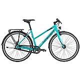 Bergamont Sweep N8 EQ Damen Fitness Bike Fahrrad türkis/schwarz 2017: Größe: 44cm (158-164cm)