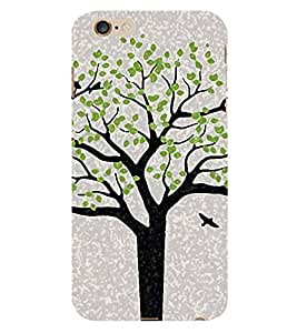 HiFi Designer Phone Back Case Cover Apple iPhone 6 :: Apple iPhone6 ( Tree Look Oil Paint Look )