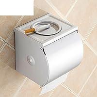 Sostenedor De Papel Higiénico Espacio Higiénico Caja De Aluminio Bandeja Caja De Papel Higiénico De Cenicero