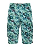 Camp David Cargo Shorts All Over Print Fresh Teal L